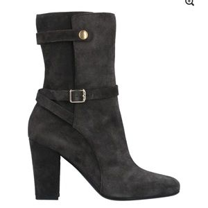 Theory Jodphur suede boots